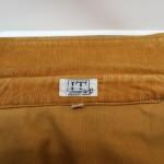 脱色が進んだ綿のコートの修復