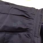 食器を洗っていたら、スカートに漂白剤が!!