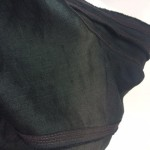肩部分の日光による脱色修正
