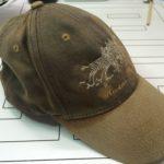 色あせた帽子の色を復元