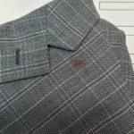 ジャケットに付いたインクのシミ