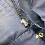 作業ジャンパーのファスナーの持ち手部分が取れた時、修理しませんか?