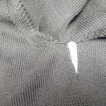 セーターの脇ほつれ修理