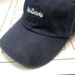 お気に入りの帽子の色あせ修正