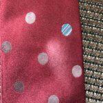 シルクのネクタイ、スレてしまったときはどうしますか?
