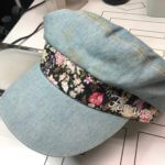 お気に入りの帽子に変色が出来てしまった!!