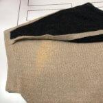 セーターの汗による脱色。お困りの方も多くはないですか?